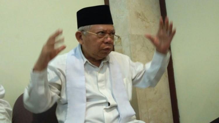 Ketua Umum MUI, KH Ma'ruf Amin menjadi saksi fakta Kasus Ahok