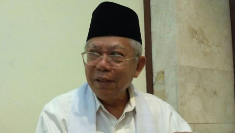 Ketua Umum MUI, KH Ma'ruf Amin