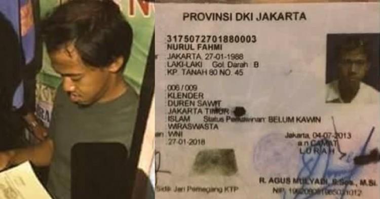 Nurul Fahmi ditangkap Polda Metro Jaya