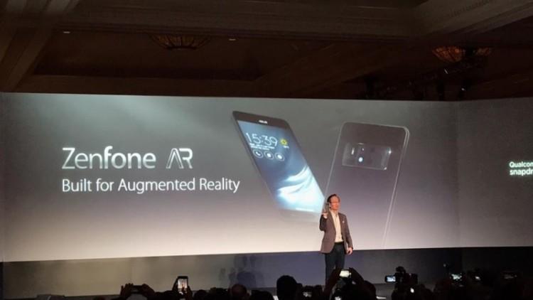 Peluncuran Zenfone AR di Las Vegas