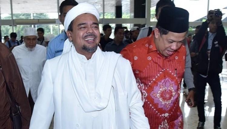 Rizieq Shihab dan Fahri Hamzah