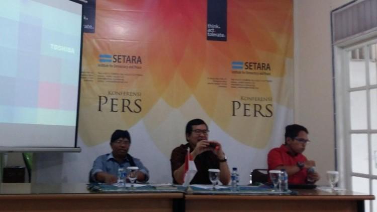 SETARA Institute gelar jumpa pers