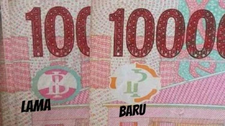 Uang pecahan Rp 100 ribu difitnah ada lambang PKI