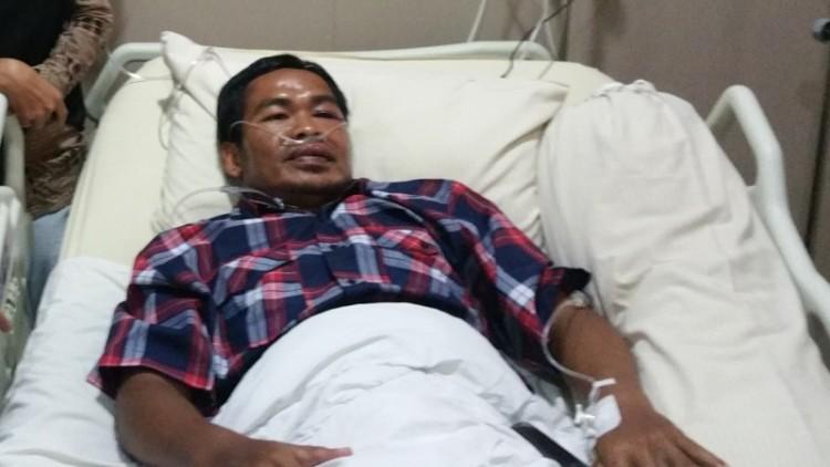 Widodo terbaring di RS  Royal Taruma, Jakbar