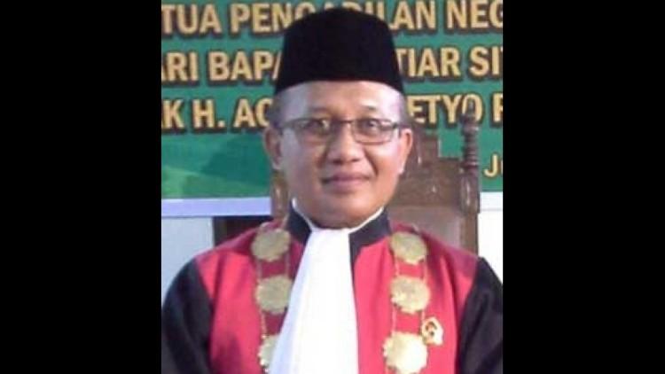 Achmad Setyo Pudjoharsoyo, calon sekretaris MA