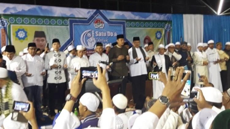 Agus Yudhoyono dan SBY didoakan ulama se-DKI