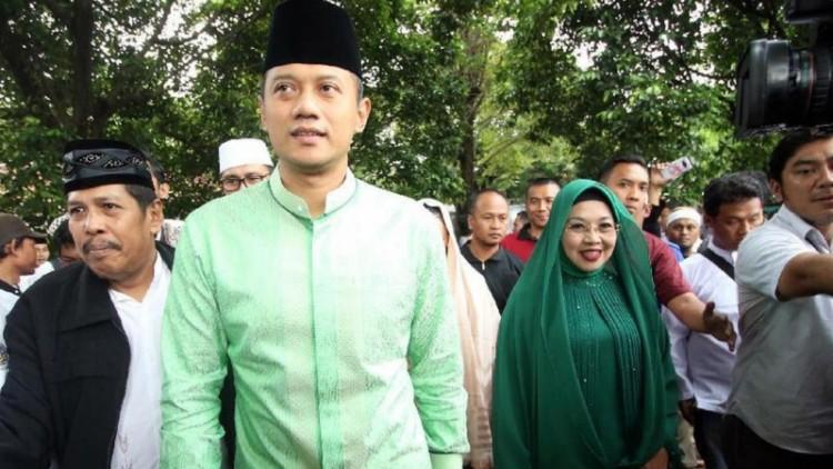 Agus Yudhoyono dan Sylviana Murni