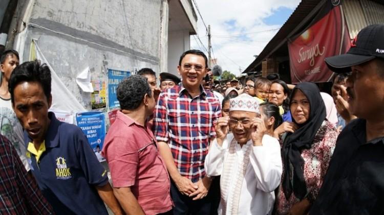 Ahok blusukan di Kampung Bali, Kalideres