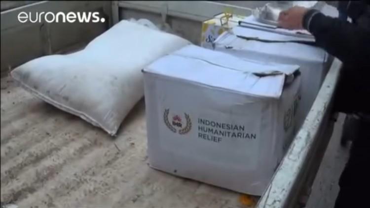 Bukti bantuan IHR ke teroris di Suriah