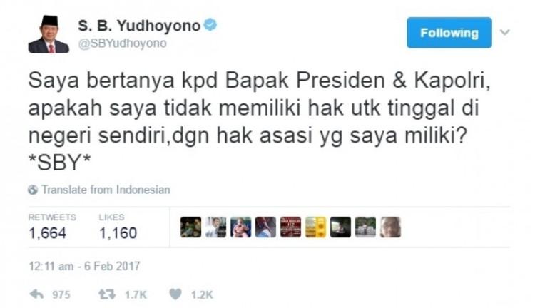Curhat SBY soal rumahnya digeruduk massa