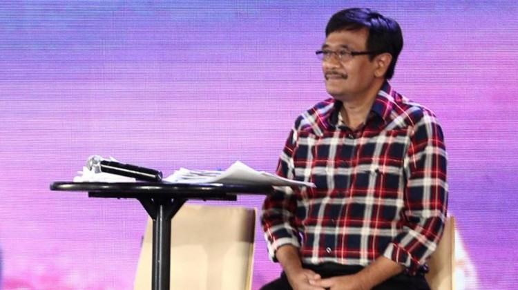 Djarot Saiful Hidayat saat debat final