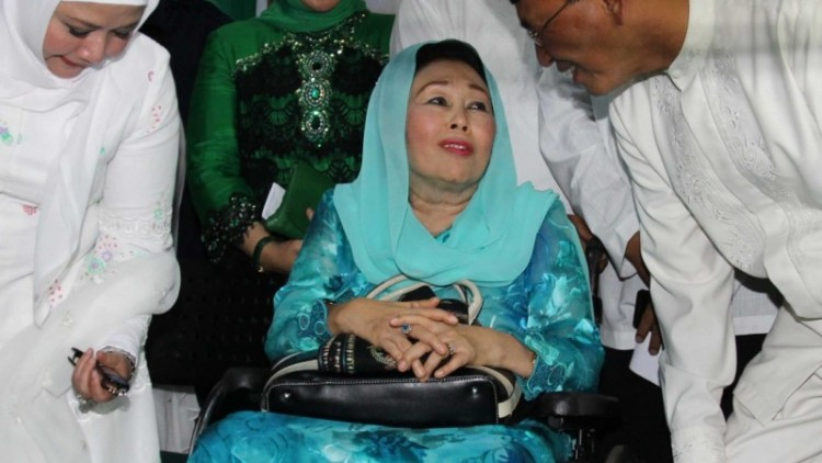 Istri mendiang Gus Dur, Sinta Nuriyah