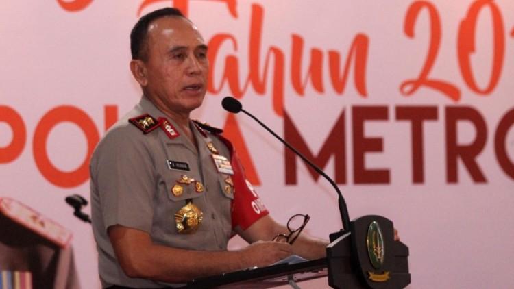 Kapolda Metro Jaya Irjen Pol Mochamad Iriawan