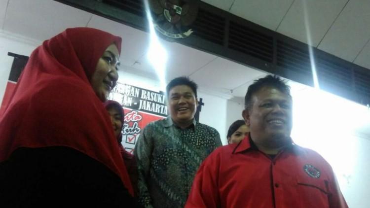 Ketua DPC PDIP Jakpus, Pandapotan Sinaga