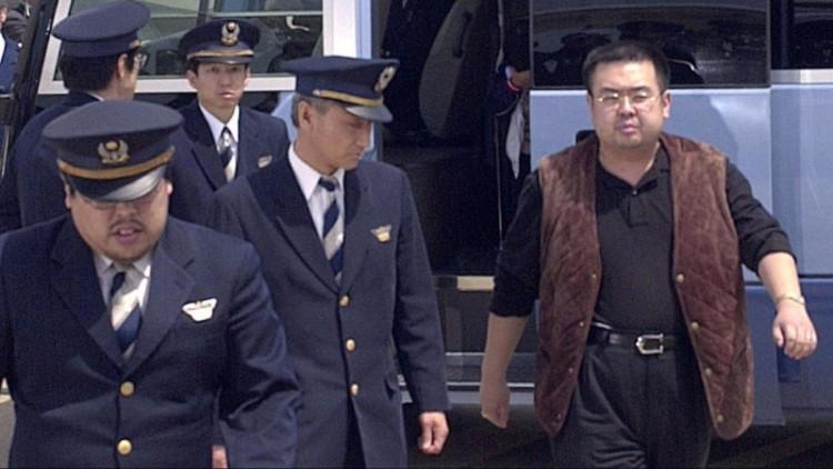 Kim Jong-Nam dalam foto tahun 2001