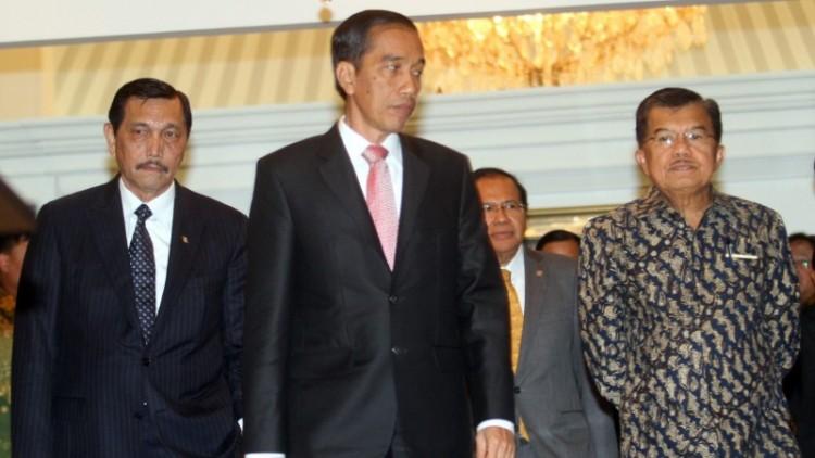 Luhut Pandjaitan dan Jokowi-JK