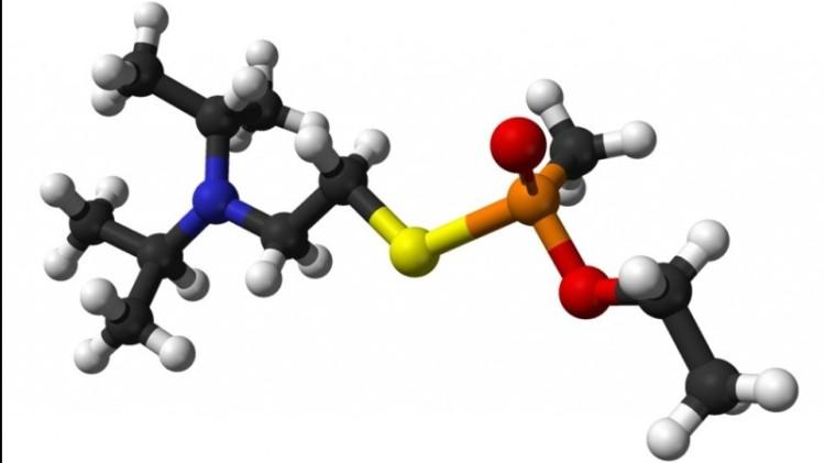Model kimia Gas Syaraf VX