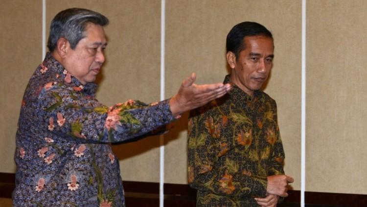Pertemuan SBY dan Jokowi pada 2014