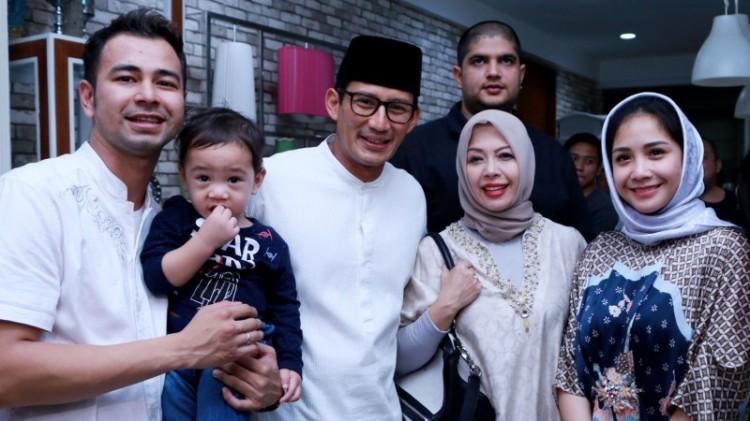 Sandiaga Uno dan istri bertemu Raffi Ahmad-Nagita Slavina