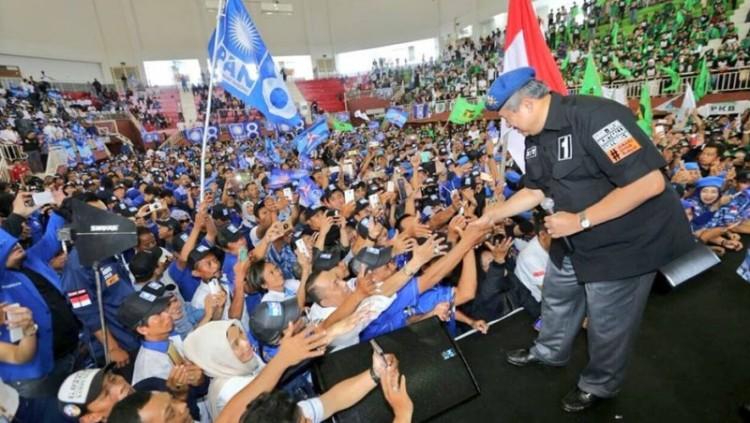 SBY berkampanye di GOR Ciracas