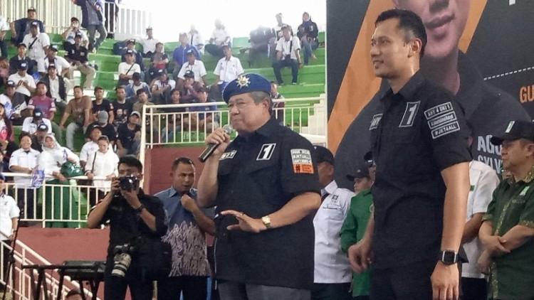 SBY berkampanye untuk Agus Yudhoyono