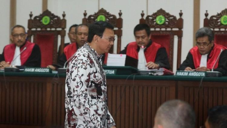 Sidang ke-10 kasus penistaan agama Ahok