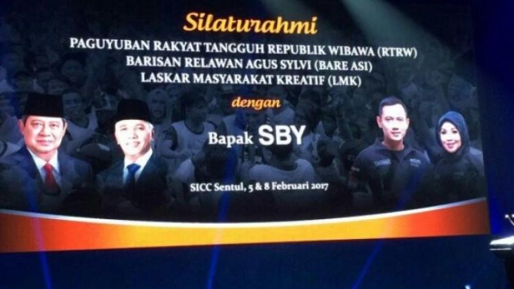 Silaturahmi Forum RT-RW dengan SBY di Sentul