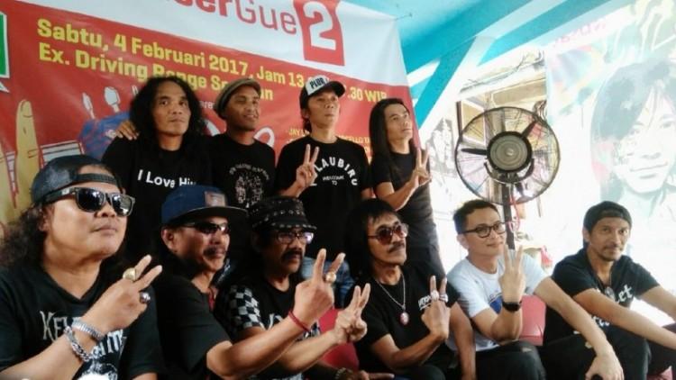 Slank dan 17 artis gelar konser dukung Ahok-Djarot