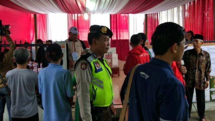 Suasana pencoblosan di TPS 01 Utan Panjang, Kemayoran