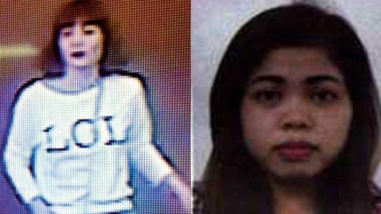 Tampang Wanita Vietnam dan Siti Aisyah, pembunuh Kim Jong Nam