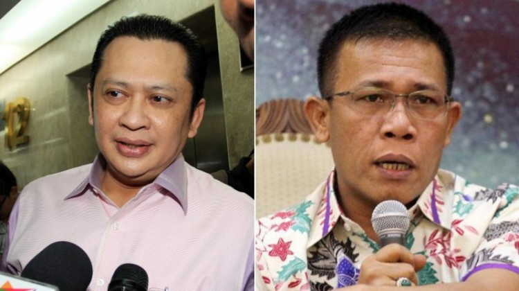 Bambang Soesatyo dan Masinton Pasaribu