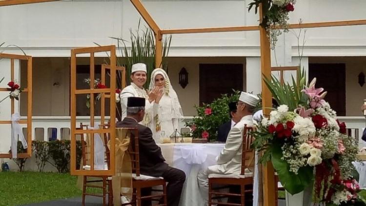 Haykal Kamil resmi menikah dengan Tantri Namirah Adlyn