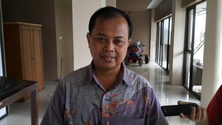Ketua KPU DKI Jakarta Sumarno di Kantor KPU DKI