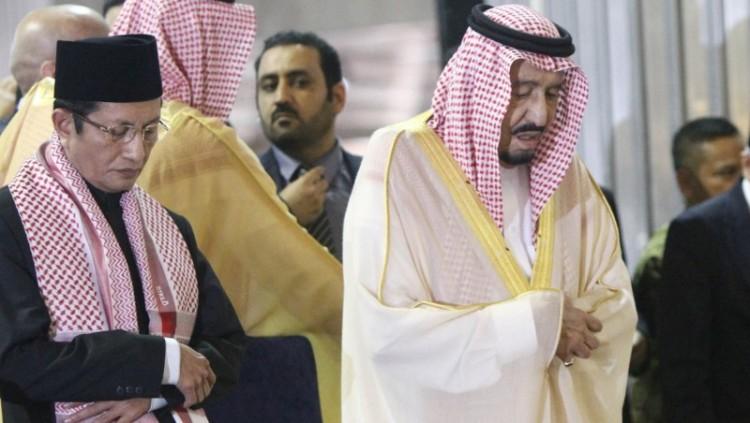 Nasaruddin pakai serban yang sama dengan Raja Salman