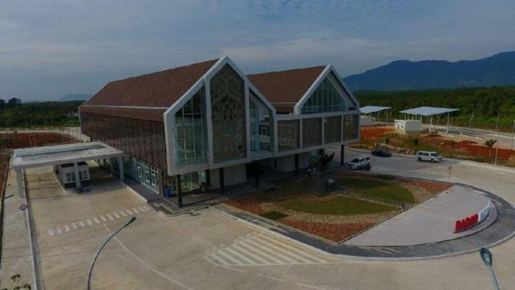 Penampakan megahnya PLBN Nanga Badau