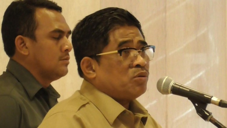 Plt Gubernur DKI Sumarsono di Balai Kota