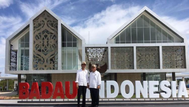 Pos Perbatasan Nanga Badau yang diresmikan Jokowi