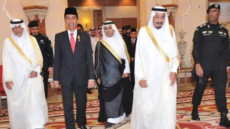 Raja Salman dan Jokowi dinilai memiliki karakter yang sama