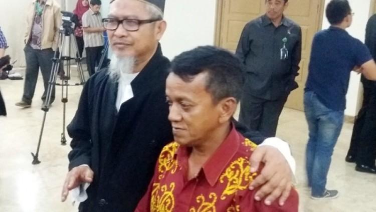 Suyanto, sopir Ahok usai sidang
