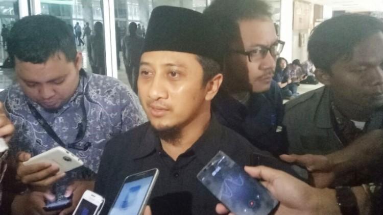 Uztad Yusuf Mansur hadir di Gedung DPR