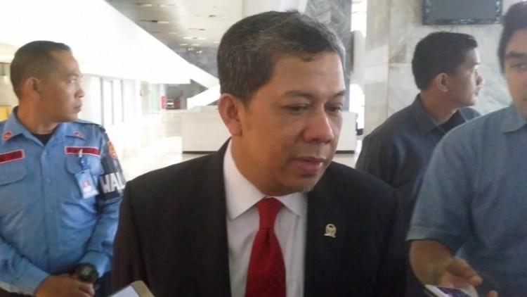Wakil Ketua DPR Fahri Hamzah meminta Ketua KPK mundur