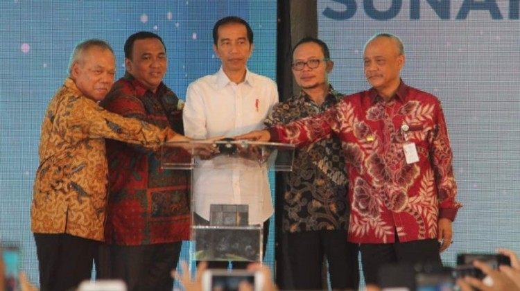 Jokowi groundbreaking pembangunan rusunami DP 1%