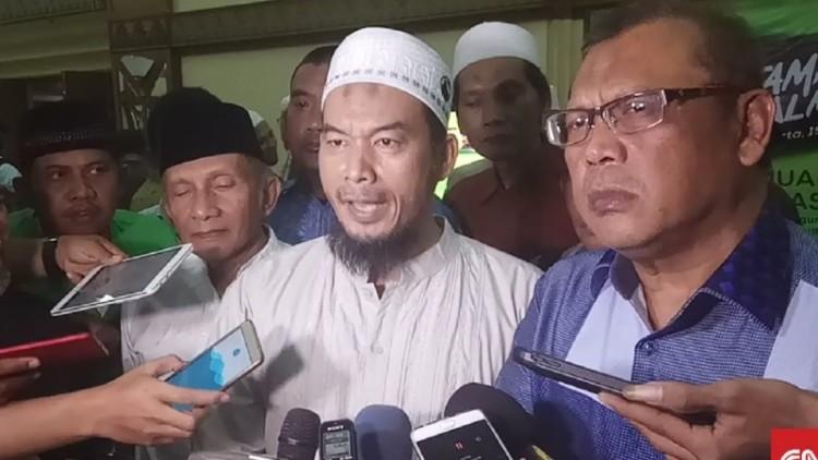 Ketua Panitia Tamasya Al Maidah Ansufri ID Sambo