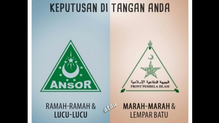 Pilih mana, GP Ansor atau FPI