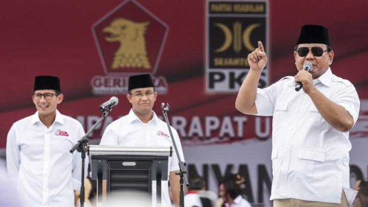 Prabowo berkampanye untuk Anies-Sandiaga