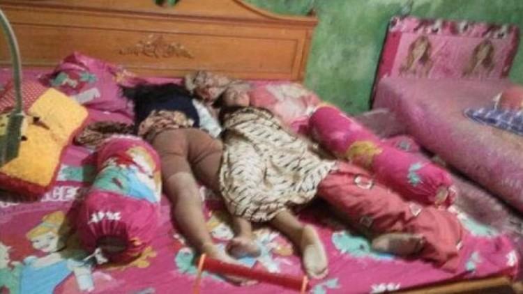 Sekeluarga tewas dibantai di Medan