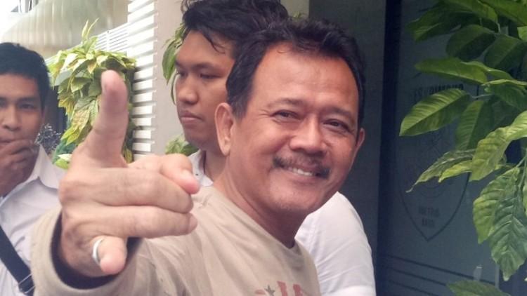 Ki Gendeng Pamungkas di Polda Metro Jaya