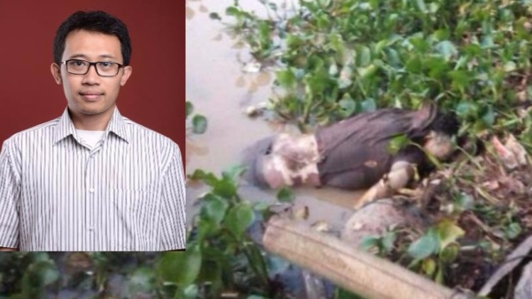Kondisi mayat Suryo Utomo di Waduk Cirata