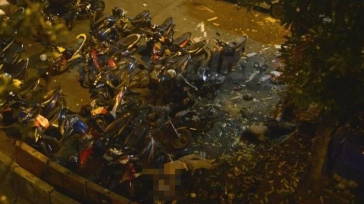 Ledakan yang terjadi di terminal Kampung Melayu