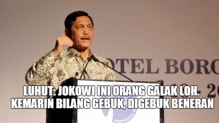 Luhut Pandjaitan bicara soal karakter Jokowi